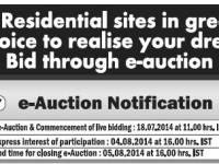 BDA e-auction Plots for sale
