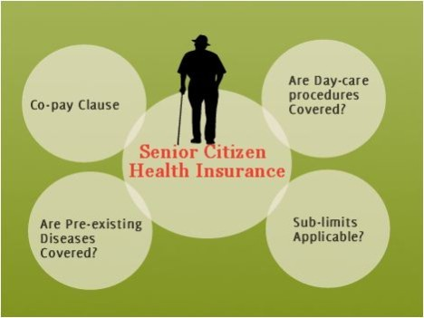 Senior citizen health insurance plans
