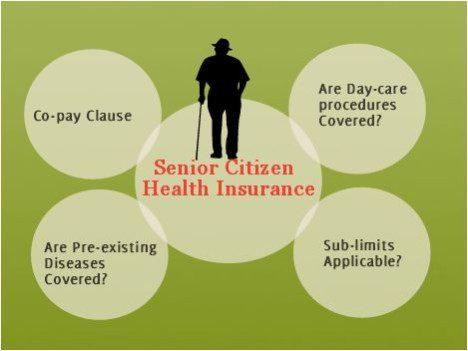 Senior citizen health insurance plans