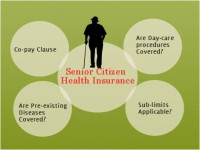 Senior citizen health insurance