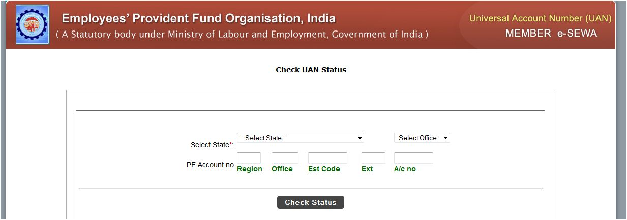 Universal Account Number status 1