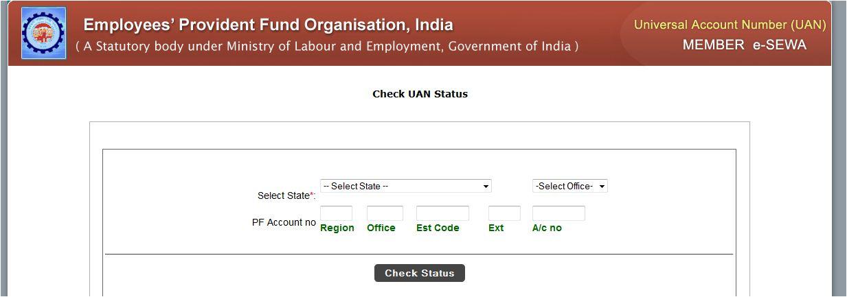 Universal Account Number status 1