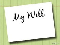 Now, write your WILL online (e-Will)..