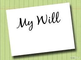 Online Will e-will