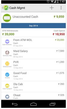 Money view android app cash tran