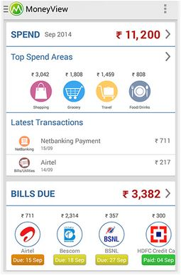 Money view android app