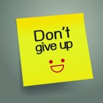 Do not give up after a layoff
