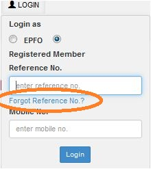 EPFO inoperative EPF account 8
