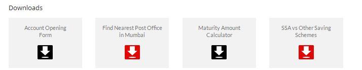 Sukanya Samriddhi Deposit Scheme Mumbai postal region website