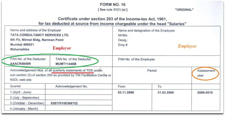 Form 16 format revised after changes in ITR forms 5 points