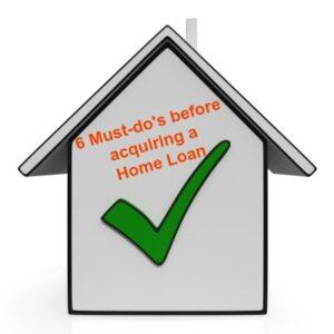 housing loan check list fb
