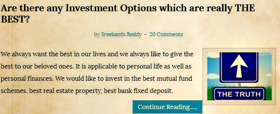 Best investment options in india for long term 2016