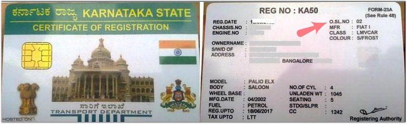 new registration smart card Used Car Second owner