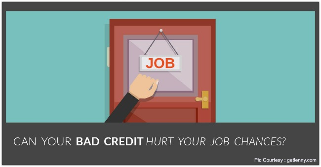 bad credit can hurt your job seekers 3 can your credit score hurt your job search 4 can you be an fbi agent if you are color blind a growing number of employers conduct credit screenings, often due to beliefs that people with bad credit and excessive debt are more likely to steal or accept bribes.