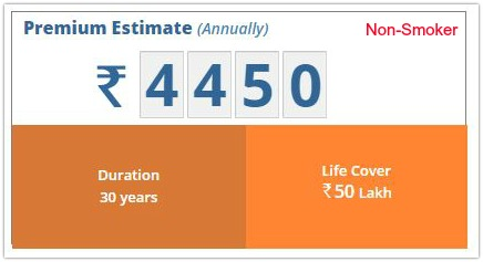 Life insurance poliycy premium estimate for non smoker pics