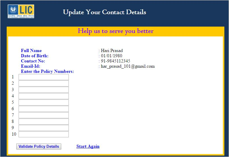 update-your-contact-details-on-lic-policies-online