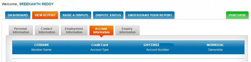 CIBIL online free credit report details pics