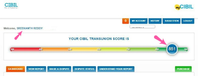 My Free Credit Report >> How To Get Cibil S Free Credit Score Annual Credit Report