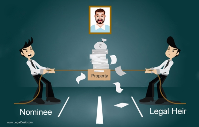 legal heir of unmarried male