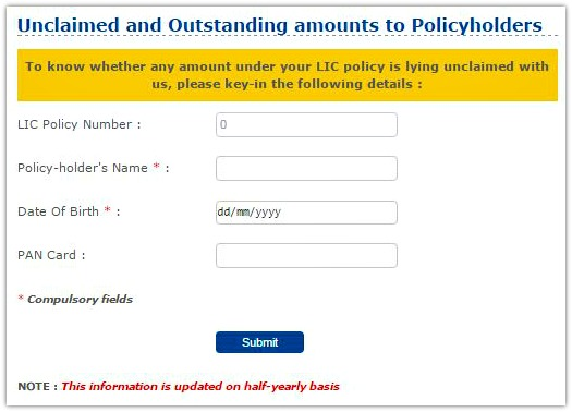 Unclaimed LIC policy amount death claim maturity claim unclaimed money back amount pic