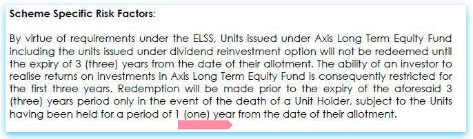 ELSS mutual fund schemes early redemption during lock in period on investor unit holder death nominee pic