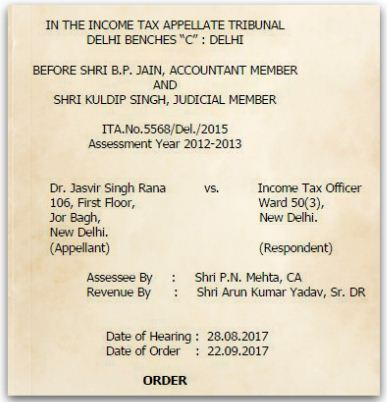 Section 54 Sec 54F benefit cannot be denied for mere non registration of sale deed Dr-Jasvir-Singh-Rana-Vs-Income-Tax-Officer-ITAT-Delhi pic