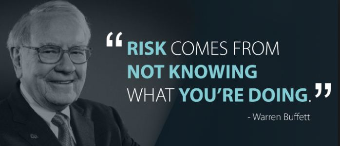 Warren buffett quote on risk