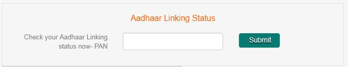 Check your aadhaar mutual fund linking status using PAN number CAMS