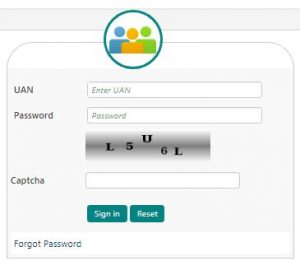 Login to EPFO unified member portal with UAN and password