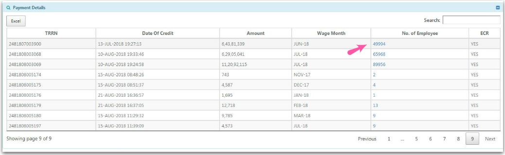 PF Payment details EPF Amount pic
