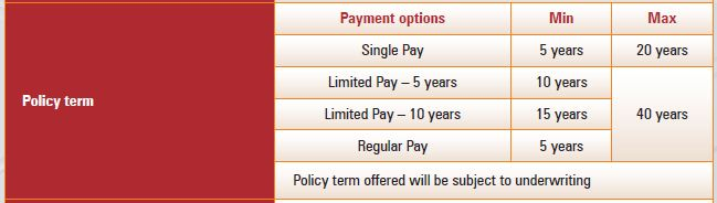 ICICI Pru Precious life plan features term plan